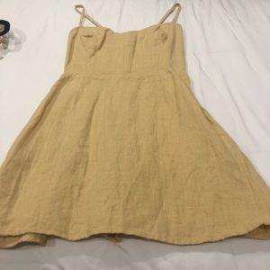 Reformation Mini Yellow Dress ✨
